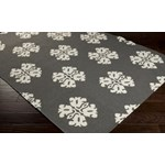 "Surya Frontier Pewter (FT-360) Square 0'6"" x 0'6"""