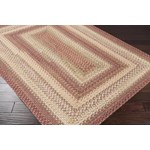 "Surya Jamestown Brick Red (JAM-4300) Rectangle 8'0"" x 10'0"""