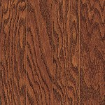 "Mannington Oregon Oak: Cherry Spice 9/16"" x 3"" Engineered Hardwood OR03CSL1"
