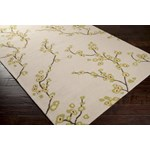 "Surya Rain Parchment (RAI-1076) Rectangle 9'0"" x 12'0"""