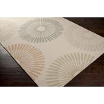 "Surya Rain Oatmeal (RAI-1088) Rectangle 3'0"" x 5'0"""