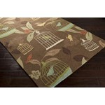 "Surya Rain Hot Cocoa (RAI-1127) Rectangle 9'0"" x 12'0"""